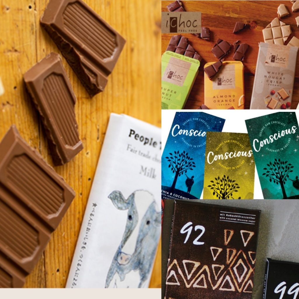 オーガニック&フェアトレードチョコレート