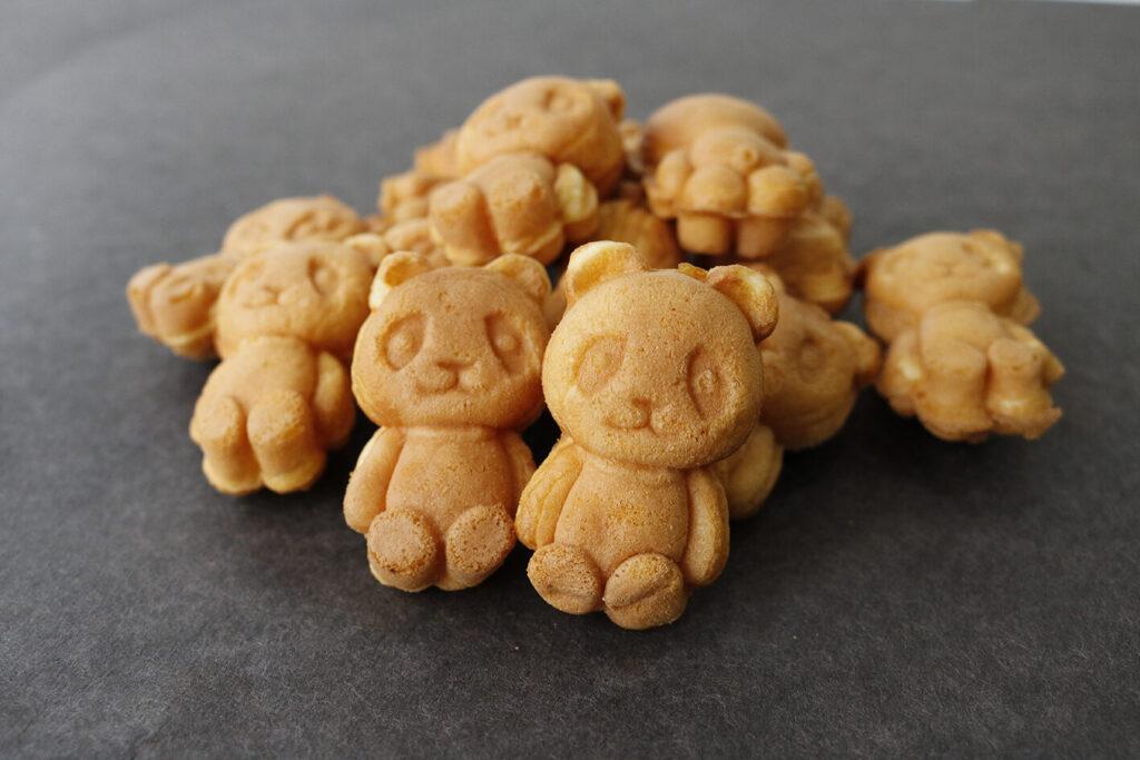 大人気!かわいいパンダ焼きが期間限定オープン!