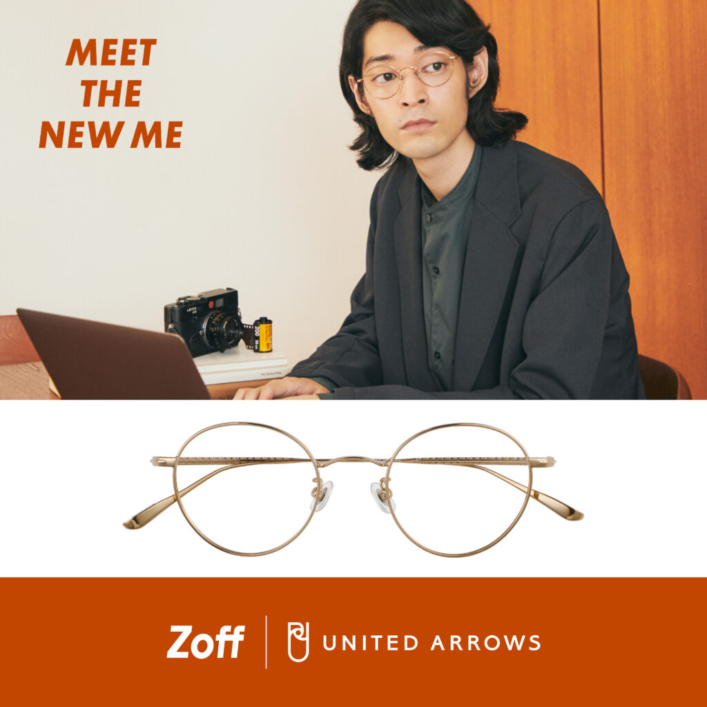 「MEET THE NEW ME」をテーマに、Zoff|UNITED ARROWS